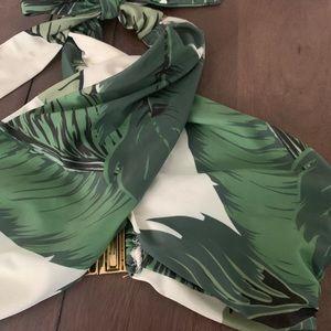Beach Riot Swim - Beach Riot // Stone Cold Fox Palm Bikini Set Small